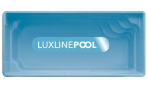 LuxLine Pool - Schwimmbecken Modell Barbados