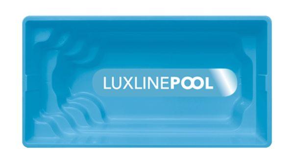 LuxLine Pool - Schwimmbecken Modell Haiti