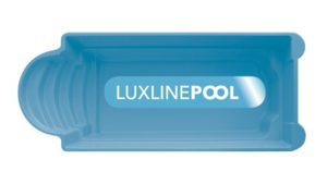 LuxLine Pool - Schwimmbecken Modell Kapri