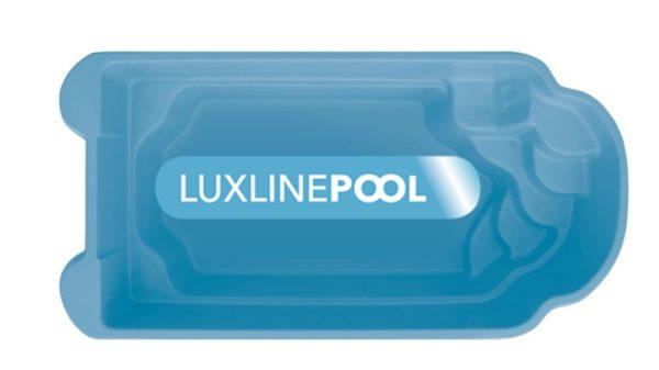 LuxLine Pool - Schwimmbecken Modell Kastos II