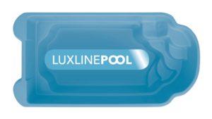 LuxLine Pool - Schwimmbecken Modell Korfu II