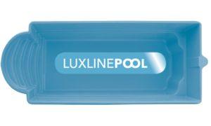 LuxLine Pool - Schwimmbecken Modell Kos