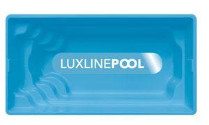 LuxLine Pool - Schwimmbecken Modell Kuba