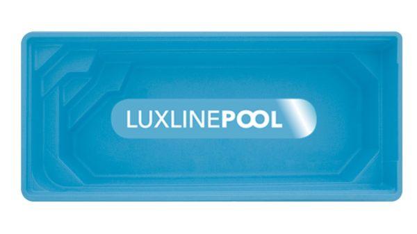 LuxLine Pool - Schwimmbecken Modell Samos