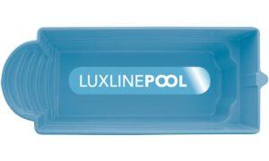 LuxLine Pool - Schwimmbecken Modell Santoryna